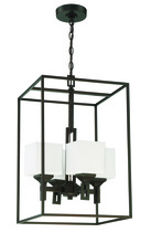 Craftmade 43934-OBG - Urbane 4 Light Foyer in Oil Bronze Gilded
