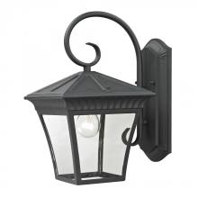 Elk Cornerstone 8411EW/65 - Ridgewood 1 Light Exterior Coach Lantern In Matt