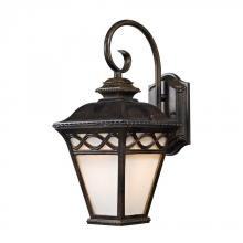 Elk Cornerstone 8551EW/70 - Mendham 1 Light Coach Lantern  In Hazelnut Bronz