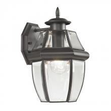 Elk Cornerstone 8601EW/75 - Ashford 1 Light Exterior Coach Lantern In Oil Ru