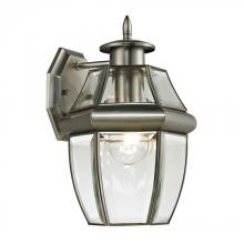 Elk Cornerstone 8601EW/80 - Ashford 1 Light Exterior Coach Lantern In Antiqu