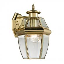 Elk Cornerstone 8601EW/85 - Ashford 1 Light Exterior Coach Lantern In Antiqu