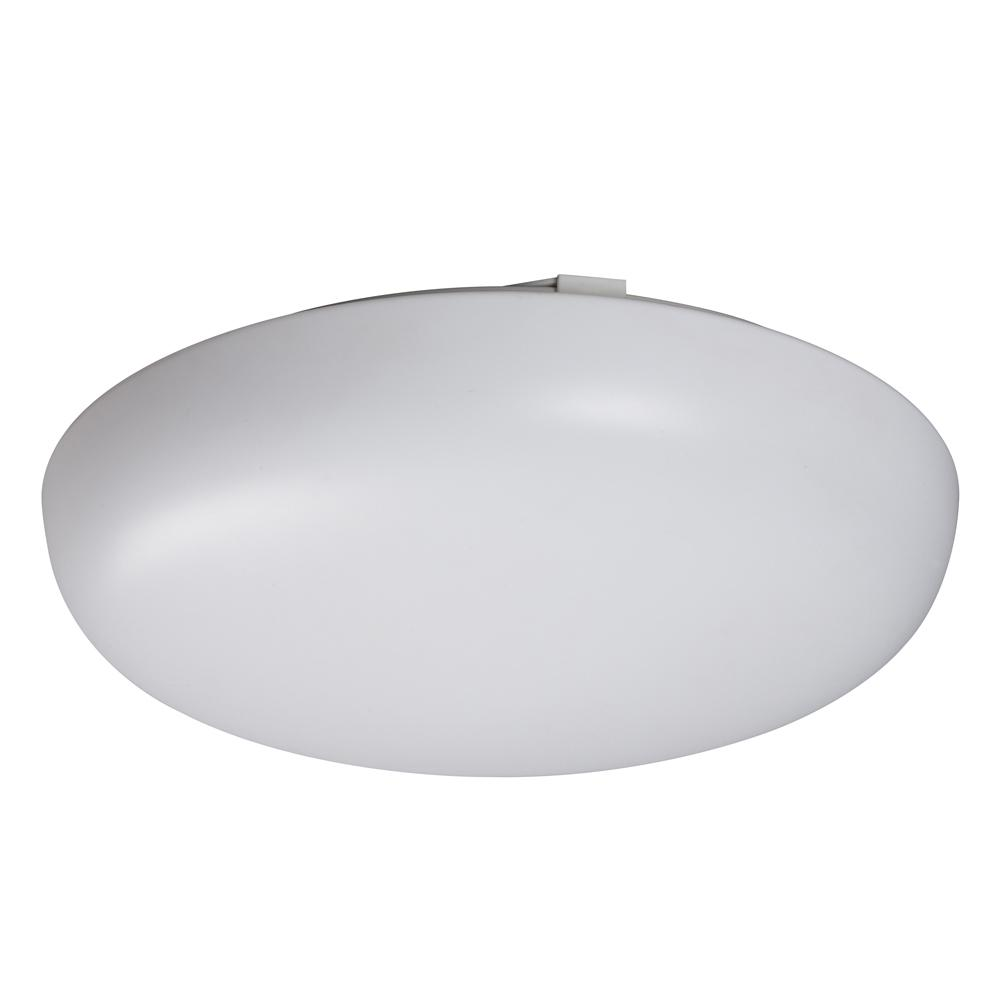 Flush Mount Ceiling Light / Round Cloud Light - in White finish with ...